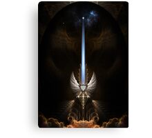 The Angel Wing Sword Of Arkledious Canvas Print