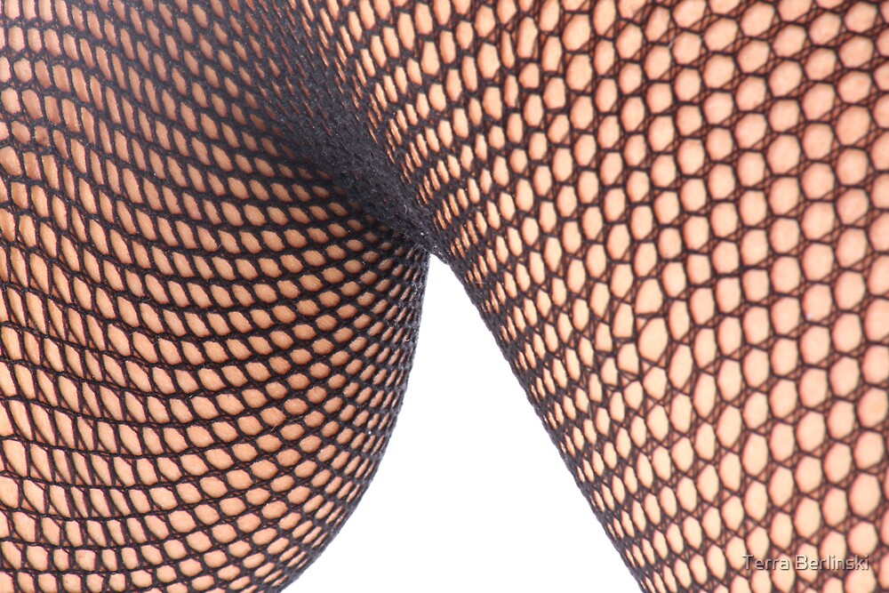 Fishnet Knee by Terra Berlinski