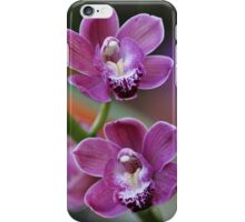 Mystical Orchids Plate No. # V iPhone Case/Skin