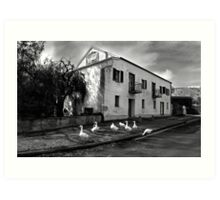 Old Noarlunga Mill 1 Art Print