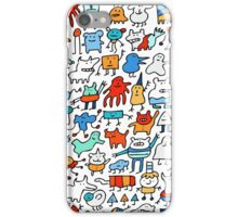 Mad Monster Friends iPhone Case/Skin