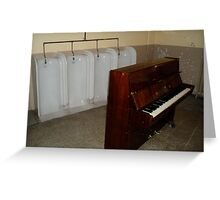 Classical tunes Greeting Card