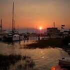 Beaufort NC Waterfront by Tom Michael Thomas