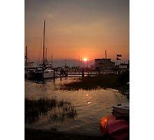 Beaufort NC Waterfront Photographic Print