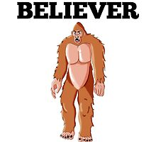 Believer Bigfoot by GiftIdea