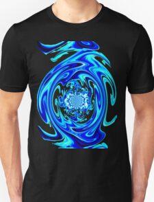 Blue Liquid-Tee T-Shirt