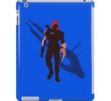 Commander Shepard (Female) - Sunset Shores iPad Case/Skin