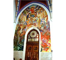Church of St Martin, Bled, Slovenia Photographic Print