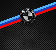 BMW Badge M - Carbon Fiber by arialite