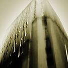 wall street falling by Shannon Holm