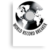 World Record Breaker Canvas Print