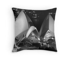 Front view Throw Pillow