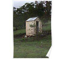 The Out House - Campania Tasmania. Poster