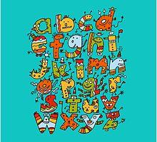 Little Alphabet Monsters by Scruffworld