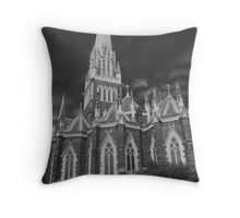 St Patricks Cathedral Throw Pillow