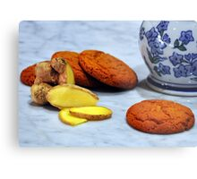 ginger biscuits Metal Print