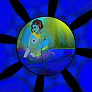 Blue Nude Bubble by Sarah Curtiss
