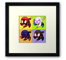 spider-men Framed Print