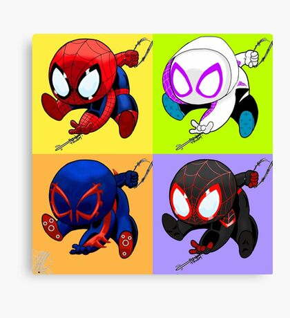 spider-men Canvas Print