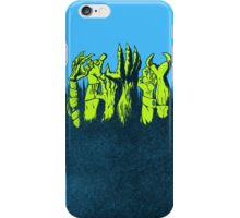 monster uprising iPhone Case/Skin