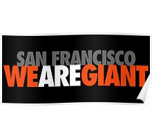 We Are Giant Poster