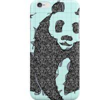 Graphic Panda iPhone Case/Skin