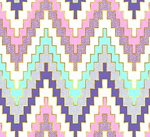Pastel tribal by t0nialar
