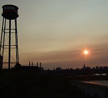 Greenpoint Watertower by Katerina Tassiopoulos