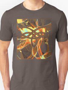 Mocha Knot T-shirt Unisex T-Shirt