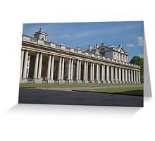 Royal Naval College Greenwich Greeting Card