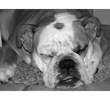 Wake me up when you are done... Photographic Print