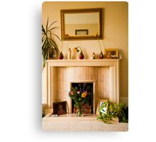 Keep Homefires Burning: The Heart of the Home Canvas Print