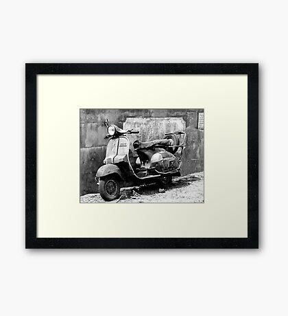 The Old Transporter Framed Print