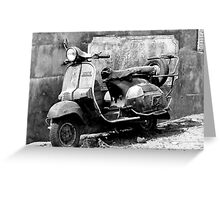 The Old Transporter Greeting Card