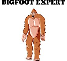 Bigfoot Expert by GiftIdea
