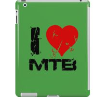 I Love MTB iPad Case/Skin