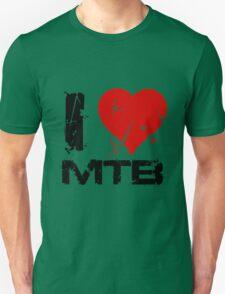 I Love MTB Unisex T-Shirt