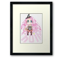 Angry Phoibe Framed Print