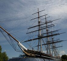 Cutty Sark in Greenwich by Keith Larby