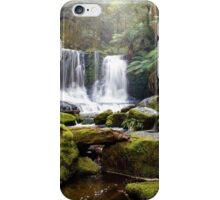 Horseshoe Falls - Mt Field Nat Park iPhone Case/Skin