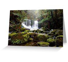 Horseshoe Falls - Mt Field Nat Park Greeting Card