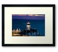 SEALINK Framed Print