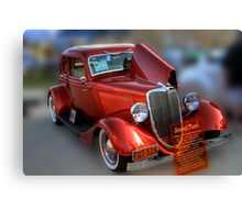 1934 Ford Coupe Canvas Print