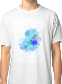 Blue Inkblot Spray  Classic T-Shirt