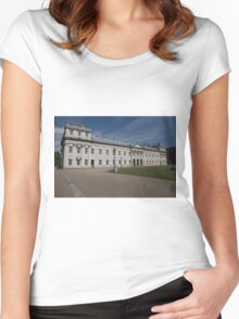 Greenwich Naval College in the the Royal Borough of Greenwich Women's Fitted Scoop T-Shirt