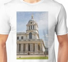St Peter & St Pauls church in Greenwich Naval College Unisex T-Shirt