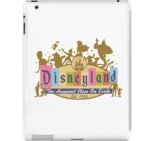 Disneyland 2015 iPad Case/Skin