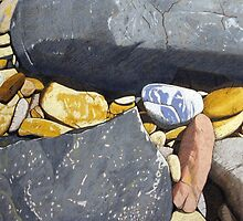 Devonport Rocks by Richard Klekociuk