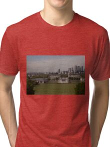 A view over London from Greenwich park Tri-blend T-Shirt