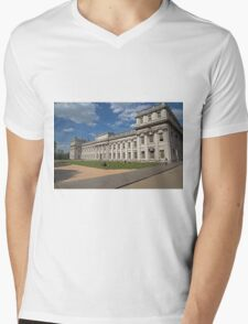 Royal Naval College in Greenwich Mens V-Neck T-Shirt